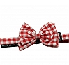 Mutt Of Course Checkmate Bow Tie Red - Medium